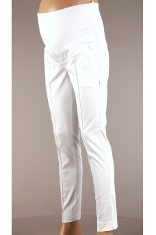 Baltos kelnės nėštukėms