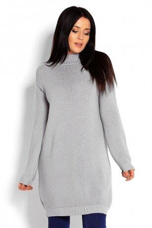 Ilgas megztinis nėščiosioms (Pilkas) PeeKa Boo