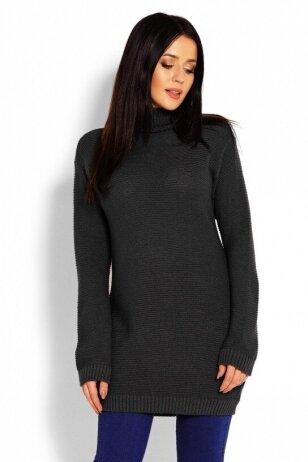 Ilgas megztinis nėščiosioms (Juodas) PeeKa Boo