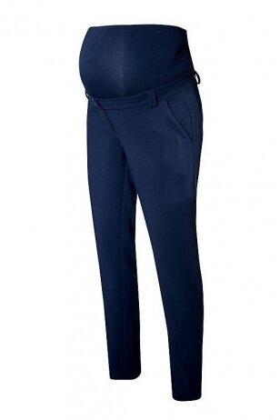 Klasikinės mėlynos kelnės nėščioms Valencia