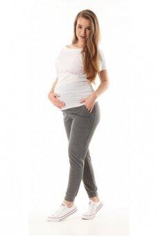 Laisvalaikio kelnės nėštukėms Vigo Pilka