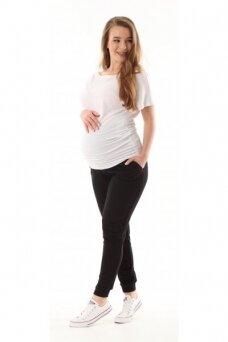 Laisvalaikio kelnės nėštukėms Vigo Juoda