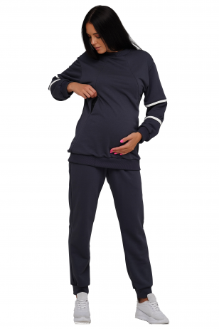 Laisvalaikio džemperis nėščioms ir maitinančioms 4221