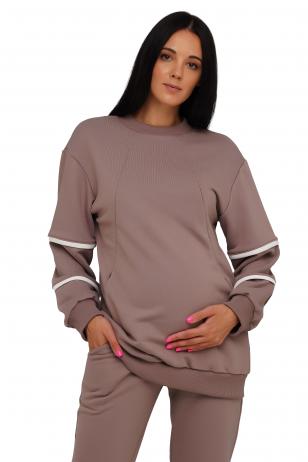 Laisvalaikio džemperis nėščioms ir maitinančioms 4222