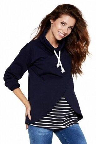 Laisvalaikio džemperis nėštukei ir maitinančiai Lawrence