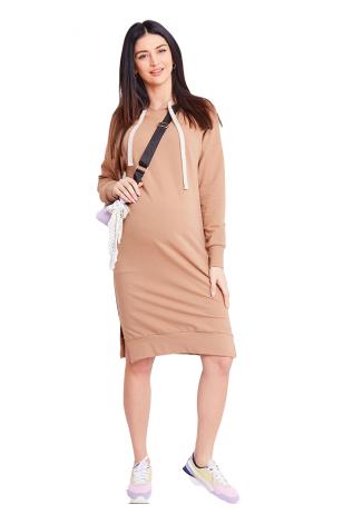 Laisvalaikio suknelė nėštukei ir maitinančiai Caramella