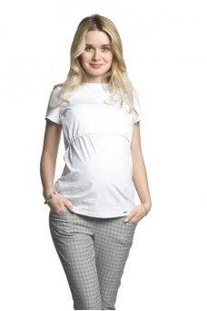 Marškinėliai maitinančioms Comfy (balta)
