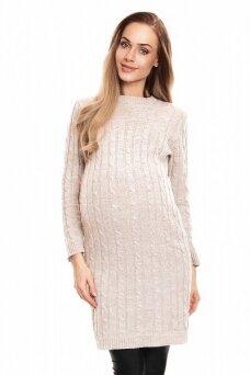 Megzta suknelė nėščiosioms (Smėlio) PeeKa Boo
