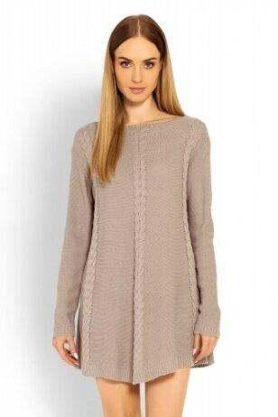 Megztinis-suknelė nėščiosioms (Smėlio) PeeKa Boo