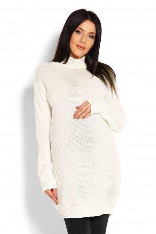 Ilgas megztinis nėščiosioms (Baltas) PeeKa Boo