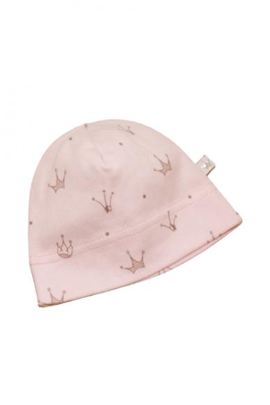 Medvilninė kepurytė rožinė 40cm