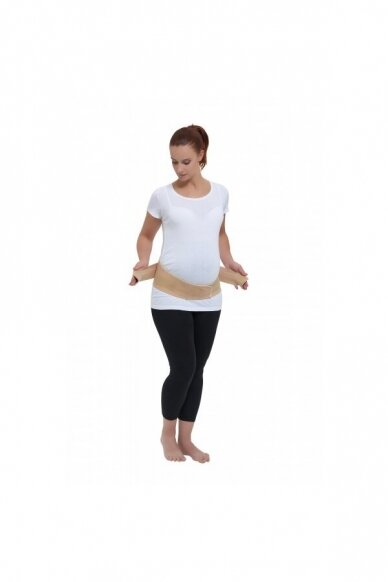 Medvilninis ortopedinis nėščiosios diržas NM 2