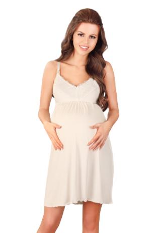 Naktiniai nėščioms ir maitinančioms Ecru