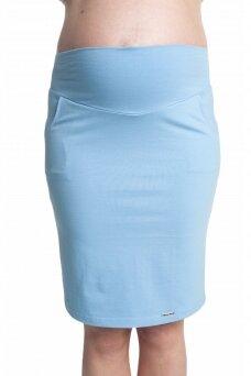 Nėščiosios sijonas, mėlynas