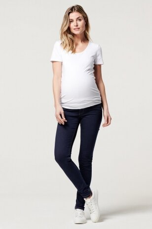 Noppies džinsai nėščioms Ella Tamsiai mėlyna