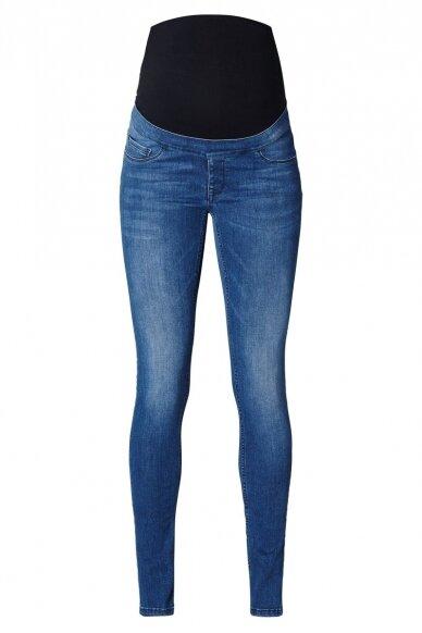 Noppies džinsai nėščioms Ella mėlyni 2