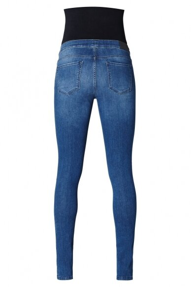 Noppies džinsai nėščioms Ella mėlyni 3