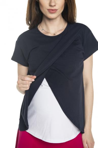 Palaidinė nėščiai ir maitinančiai Lavis (juoda) 2