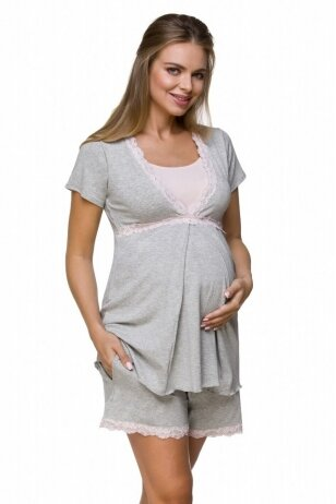 Pižama maitinančioms ir nėščioms Lupoline