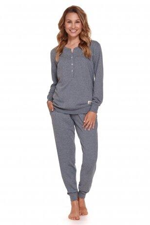 Pižama nėščioms ir maitinančioms Grey