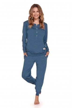 Pižama nėščioms ir maitinančioms Dark Blue