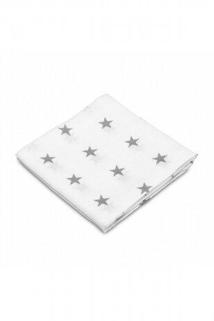 Sensillo vystyklas, medvilninis, žvaigždutės 70x80 cm