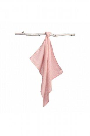 Sensillo vystyklas, medvilninis, rožinis 70x80 cm