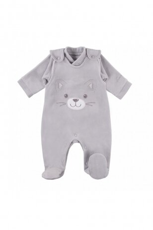Šiltas komplektukas: šliaužtinukai ir marškinėliai, EEVI Katė