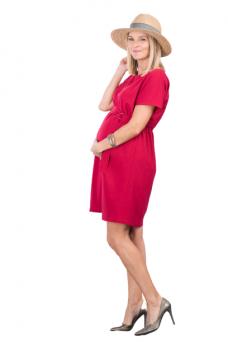 Suknelė nėščioms Gloria Red