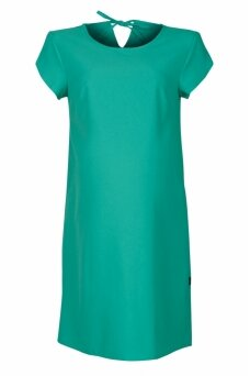 Lygi suknelė nėščioms (žalia)