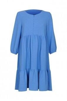 Suknelė nėščiosioms ir maitinančioms (Mėlyna)