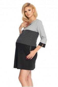 Suknelė nėščiosioms (Pilka) PeeKa Boo