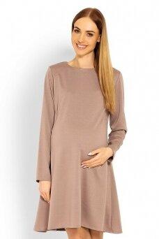 Suknelė nėščiosioms (Karamelinė) PeeKa Boo