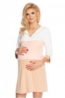 Suknelė nėščiosioms (Smėlio) PeeKa Boo