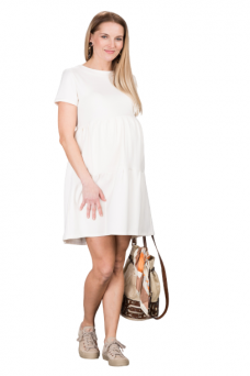 Suknelė nėštukėms Marlena Ecru
