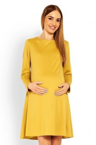 Suknelė nėščiosioms (Geltona) PeeKa Boo