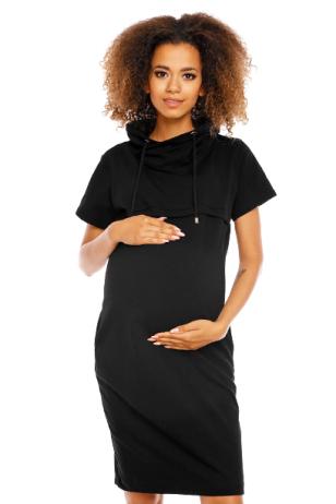 Suknelė nėščiosioms ir maitinančioms  PeeKa Boo (Juoda)