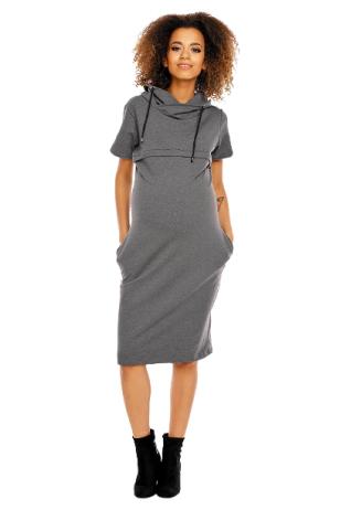 Suknelė nėščiosioms ir maitinančioms  PeeKa Boo (pilka)