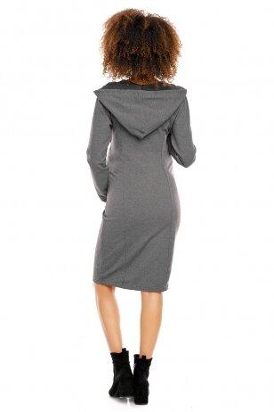 Suknelė nėščiosioms ir maitinančioms  PeeKa Boo (Tamsiai pilka)