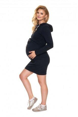 Suknelė nėščiosioms ir maitinančioms PeeKa Boo mėlynos spalvos