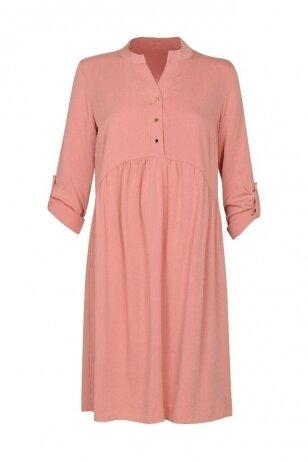 Suknelė nėščiosioms ir maitinančioms (Rausva)