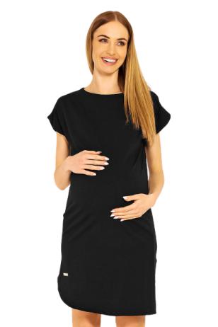 Suknelė nėščiosioms (juoda) PeeKa Boo