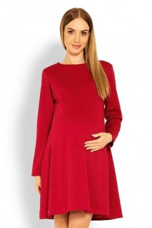 Suknelė nėščiosioms (Raudona) PeeKa Boo