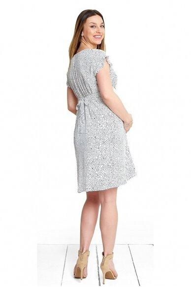 Suknelė nėštukėms ir maitinančioms Angel White 3