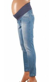 Šviesūs džinsai nėštukėms