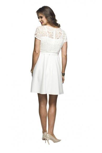 Šventinė suknelė nėščioms Santia (kreminė) 3
