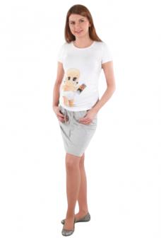 Trikotažinis nėščiosios sijonas