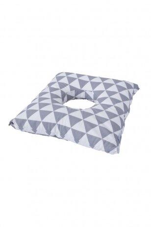 Pogimdyvinė pagalvė Baby Matex Trikampiai